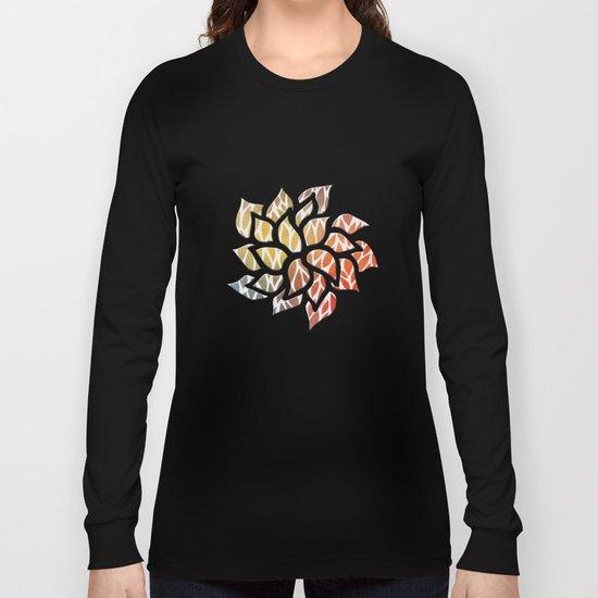 Petals Pattern #4 Long Sleeve T-shirt