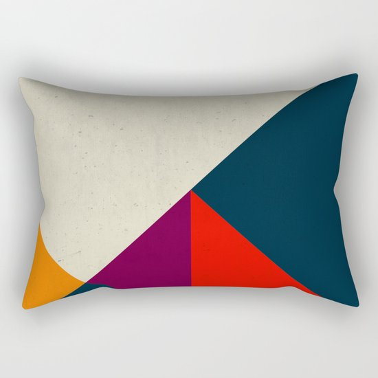 Geometric abstract Rectangular Pillow