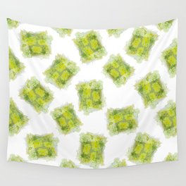 August Peridot Birthstone Series - Watercolor Wall Tapestry