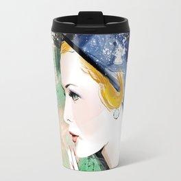 Vogue Fashion Illustration #7 Travel Mug