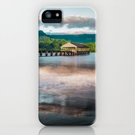 Hanalei Pier Kauai Hawaii  iPhone Case