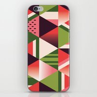 watermelon iPhone & iPod Skins featuring watermelon by Gray