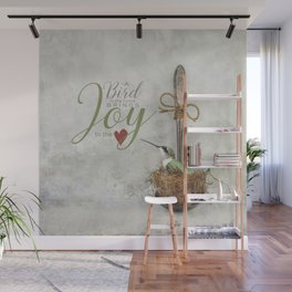 A Spoonful of Hummingbird Wall Mural