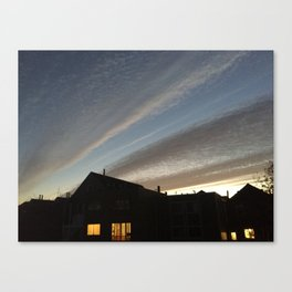 Sky Lines Canvas Print