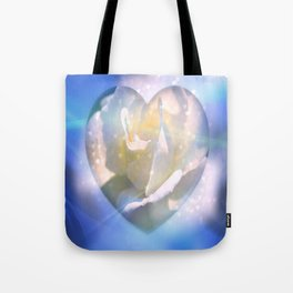 Forever Love Abstract  Tote Bag