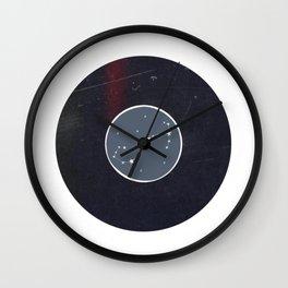 Vinyl Record Zodiac Sign Scorpio Wall Clock