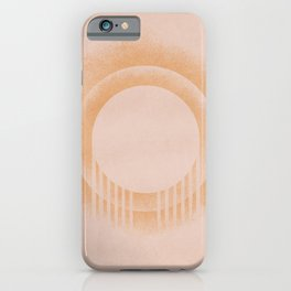 Abstract circles and arch iPhone Case