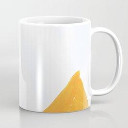 The Crown of Basquiat, Abstract, Selective Yellow Coffee Mug