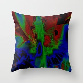 """Beauty Solarized"" Throw Pillow"