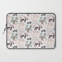 Royal Rhinoceros Laptop Sleeve