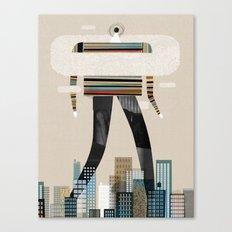Walking Canvas Print