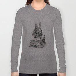 Tribute to Gaudi Long Sleeve T-shirt