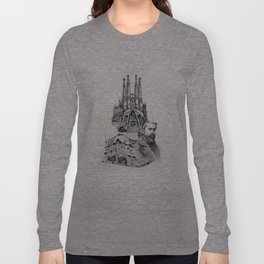 Tribute to Gaudi Long Sleeve T-shirt