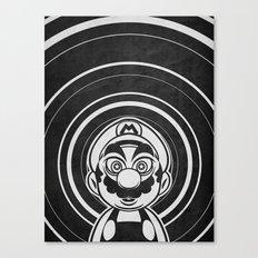 Super Trippin Bros. Mario is All Stars. Canvas Print