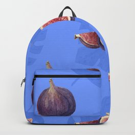 Figs and tropical leaves pattern Backpack