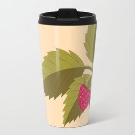 sprig with raspberry Travel Mug