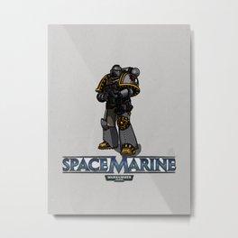 Space Marine Metal Print