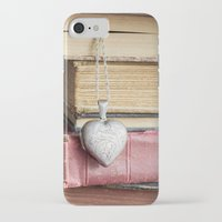 college iPhone & iPod Cases featuring College Romance by Colleen Farrell