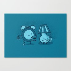 Alarm Sneak Canvas Print