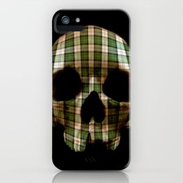Tartan though and through iPhone Case