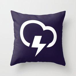Thunderstorm - Better Weather Throw Pillow