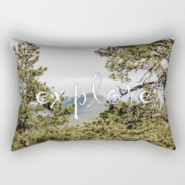 Explore. Always. Rectangular Pillow
