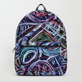 Eyes on a dancefloor Backpack