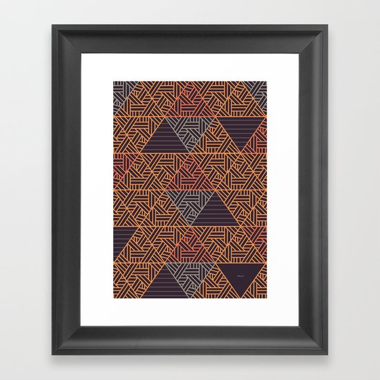 Abstract Triangles by workbydan