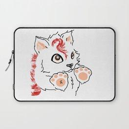 Snowfox - red Laptop Sleeve