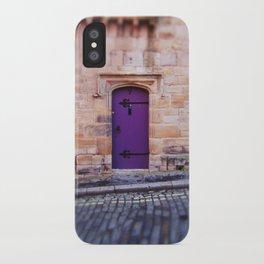Purple Door iPhone Case