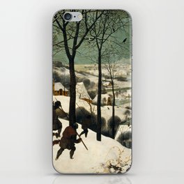 The Hunters in the Snow - Pieter Bruegel the Elder iPhone Skin