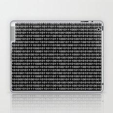 The Binary Code DOS version Laptop & iPad Skin