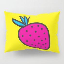 Strawberrious - Magenta/YELLOW Pillow Sham