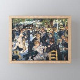 Dance at Le Moulin de la Galette by Renoir Framed Mini Art Print