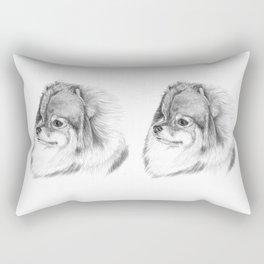 Pomeranian Rectangular Pillow