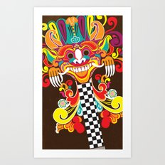 Barong Pop Art Art Print