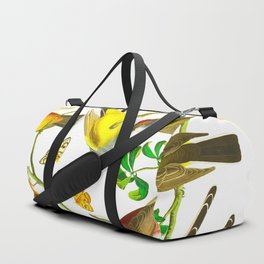 Arkansaw Flycatcher, Swallow-Tailed Flycatcher, Says Flycatcher John James Audubon Birds Duffle Bag