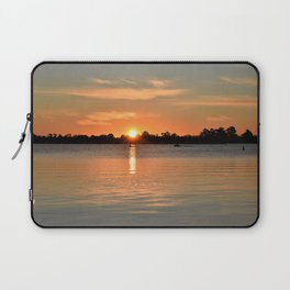 Caught in the Sunset Laptop Sleeve