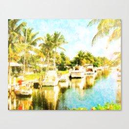 Water Wonderland Canvas Print