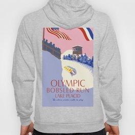 Lake Placid Olympic bobsled run Hoody
