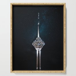 Milad Tower Serving Tray