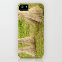 Feathered Feet iPhone Case