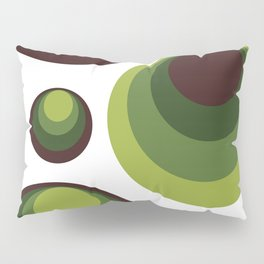 Back To The 70's In Green Pillow Sham