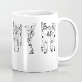 Mech Lineup Coffee Mug