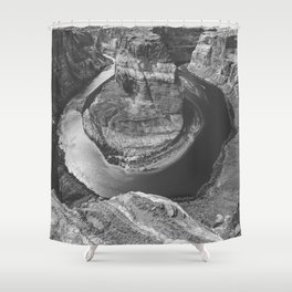 Windy Day at Horseshoe Bend Shower Curtain