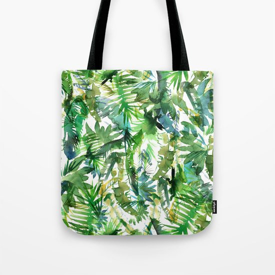 VIBE of the Jungle  {A-green} Tote Bag