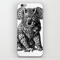 bioworkz iPhone & iPod Skins featuring Koala by BIOWORKZ