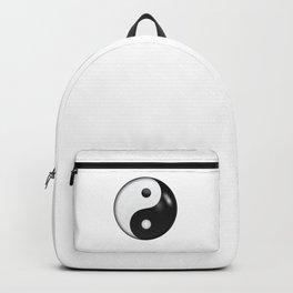 Yin yang symbol of harmony and balance Backpack