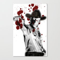 UNREAL PARTY 2012 THE WALKING DEAD Canvas Print