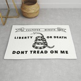 Historic Culpeper Minutemen flag Rug